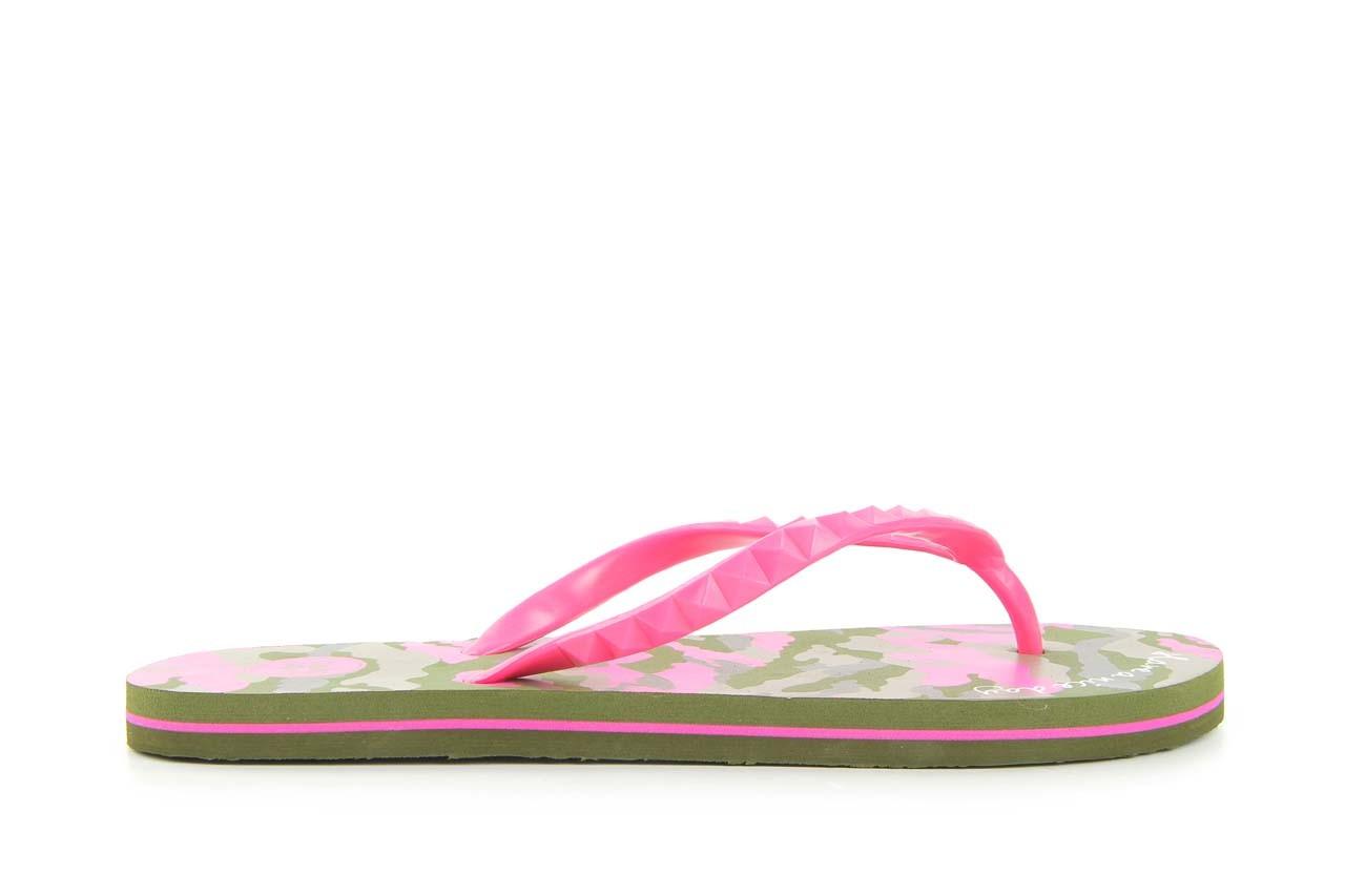 Klapki gioseppo frappe 1 fuchsia, róż, guma - piankowe - klapki - buty damskie - kobieta 4