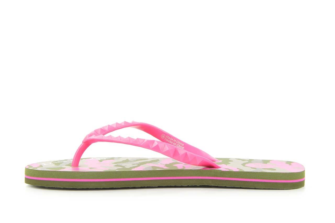 Klapki gioseppo frappe 1 fuchsia, róż, guma - piankowe - klapki - buty damskie - kobieta 6