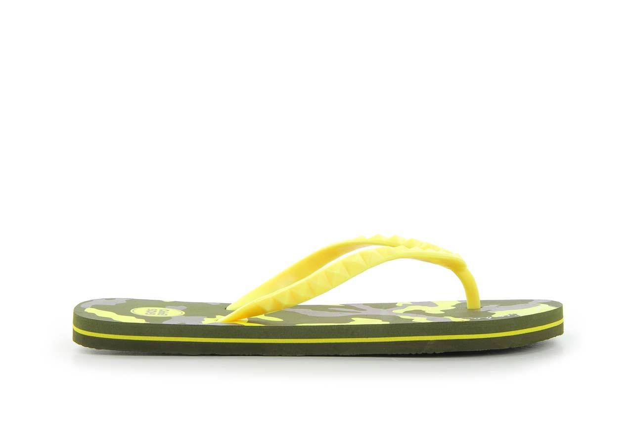 Klapki gioseppo frappe 1 yellow, żółty, guma - piankowe - klapki - buty damskie - kobieta 4