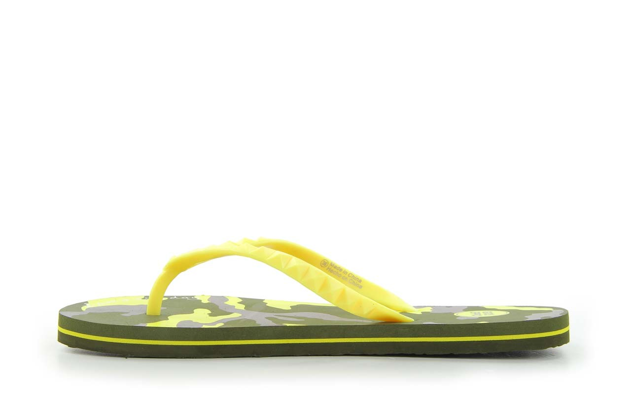 Klapki gioseppo frappe 1 yellow, żółty, guma - piankowe - klapki - buty damskie - kobieta 6