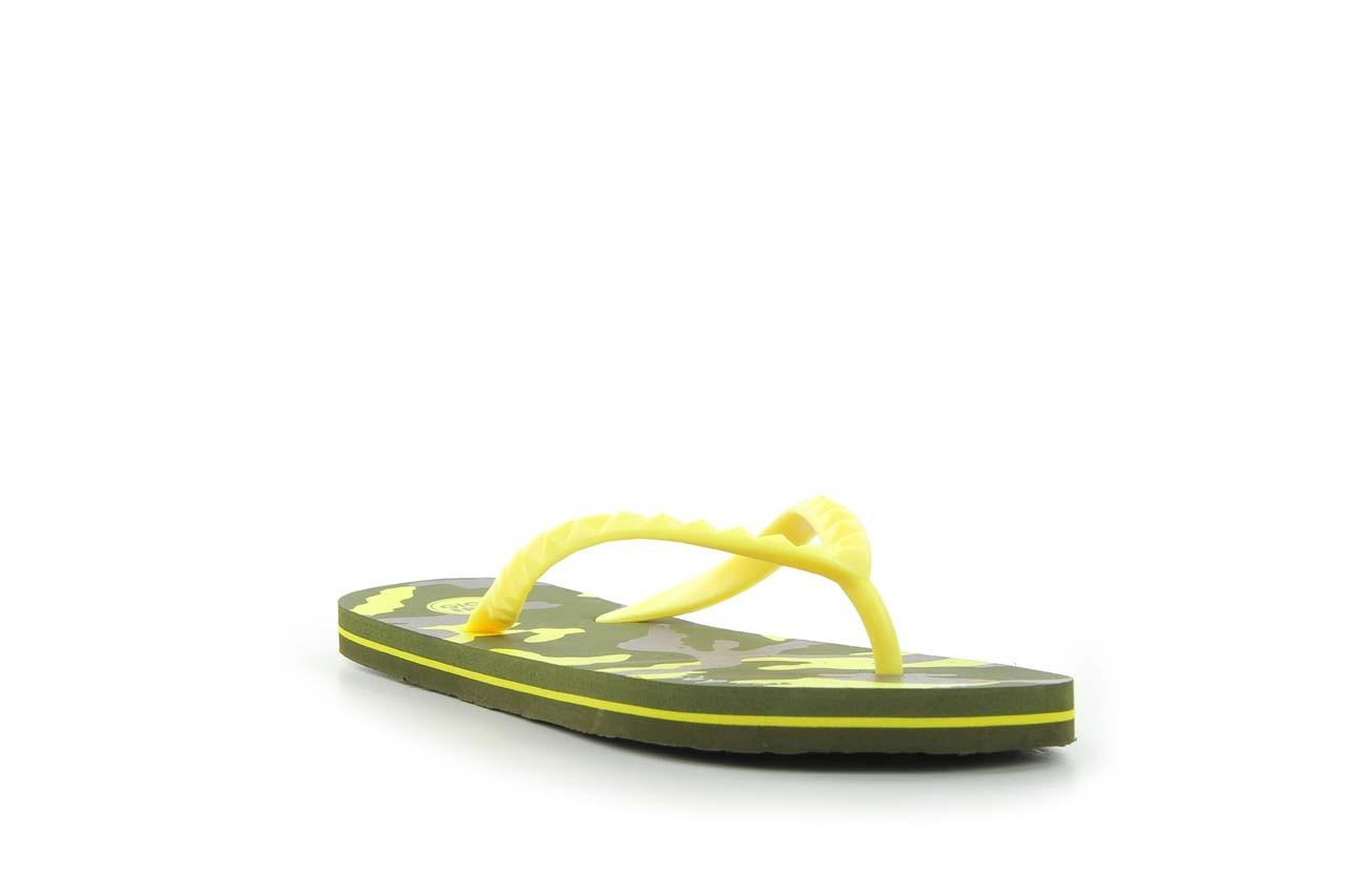 Klapki gioseppo frappe 1 yellow, żółty, guma - piankowe - klapki - buty damskie - kobieta 5