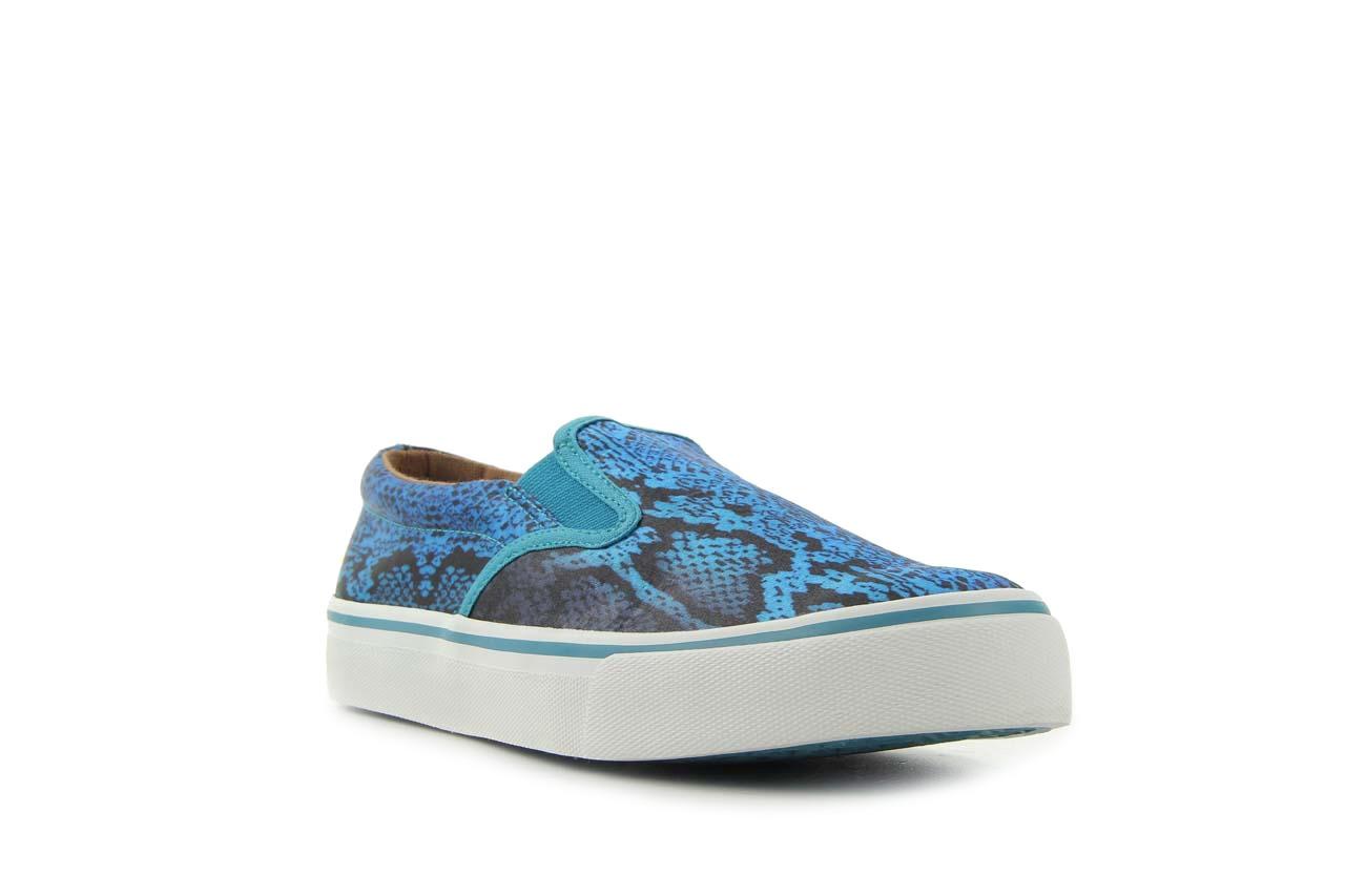 Półbuty gioseppo hapenning snake-blue, niebieski, materiał - gioseppo - nasze marki 6