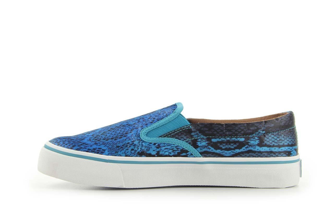 Półbuty gioseppo hapenning snake-blue, niebieski, materiał - gioseppo - nasze marki 7