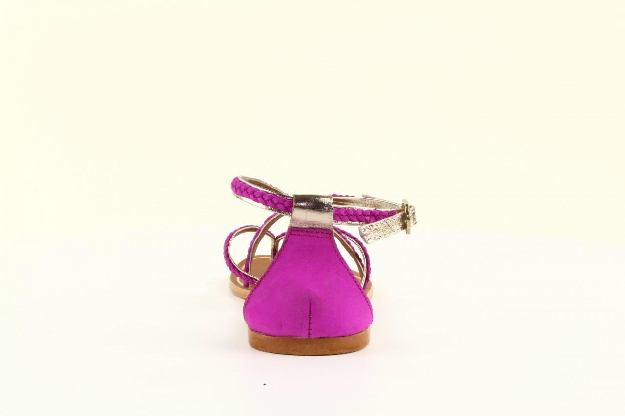 Sandały gioseppo jacobe fucshia, róż, skóra naturalna - gioseppo - nasze marki 6