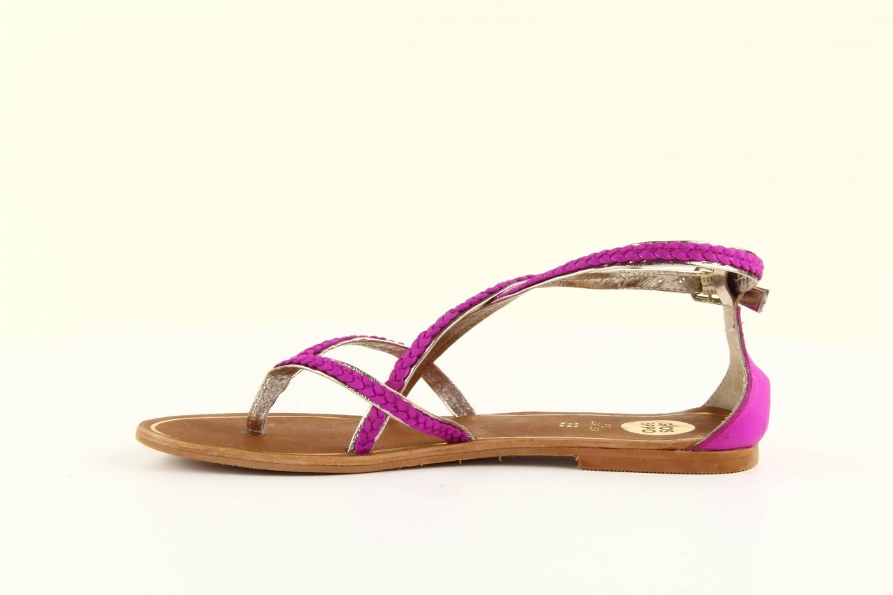 Sandały gioseppo jacobe fucshia, róż, skóra naturalna - gioseppo - nasze marki 5