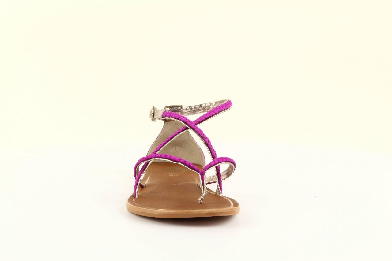 Sandały gioseppo jacobe fucshia, róż, skóra naturalna - gioseppo - nasze marki 7