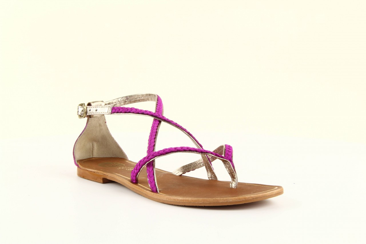 Sandały gioseppo jacobe fucshia, róż, skóra naturalna - gioseppo - nasze marki 8