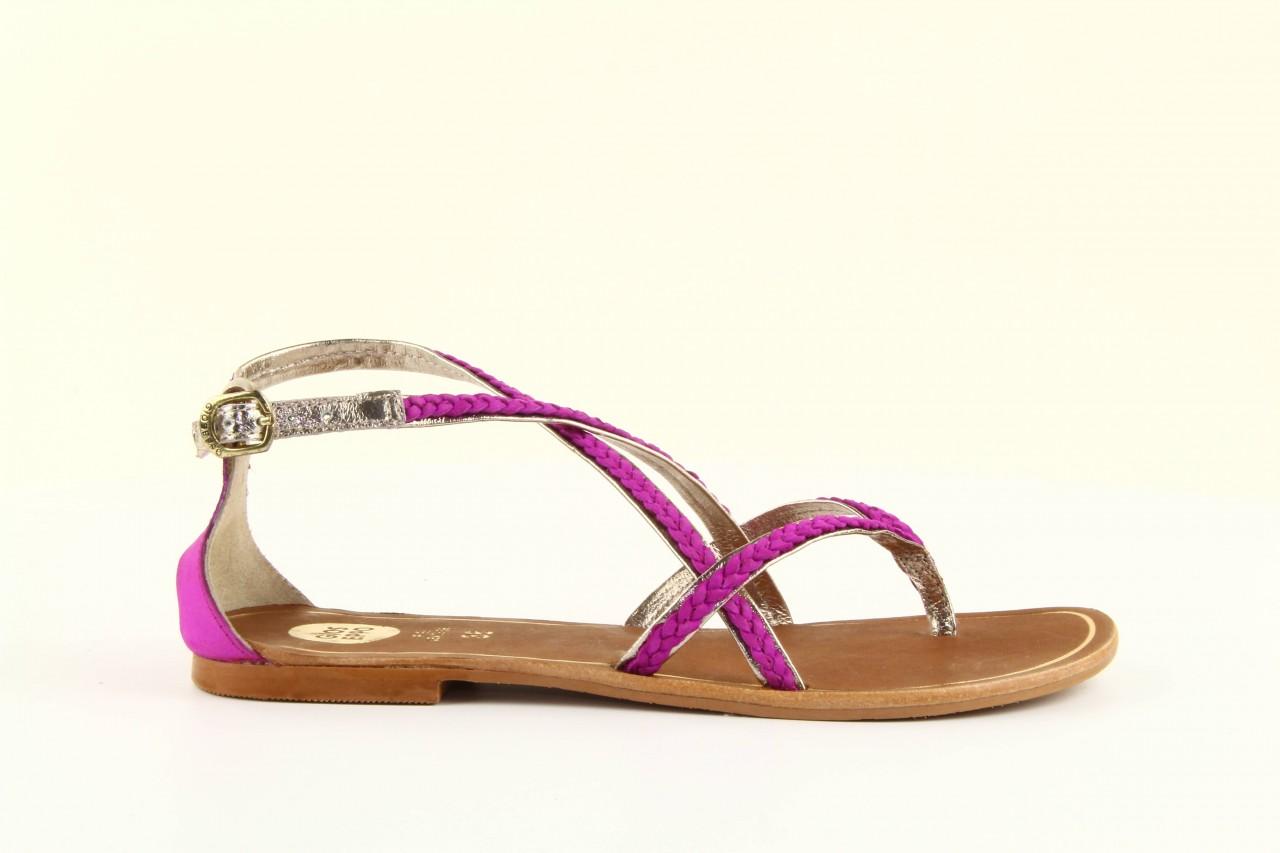 Sandały gioseppo jacobe fucshia, róż, skóra naturalna - gioseppo - nasze marki 9