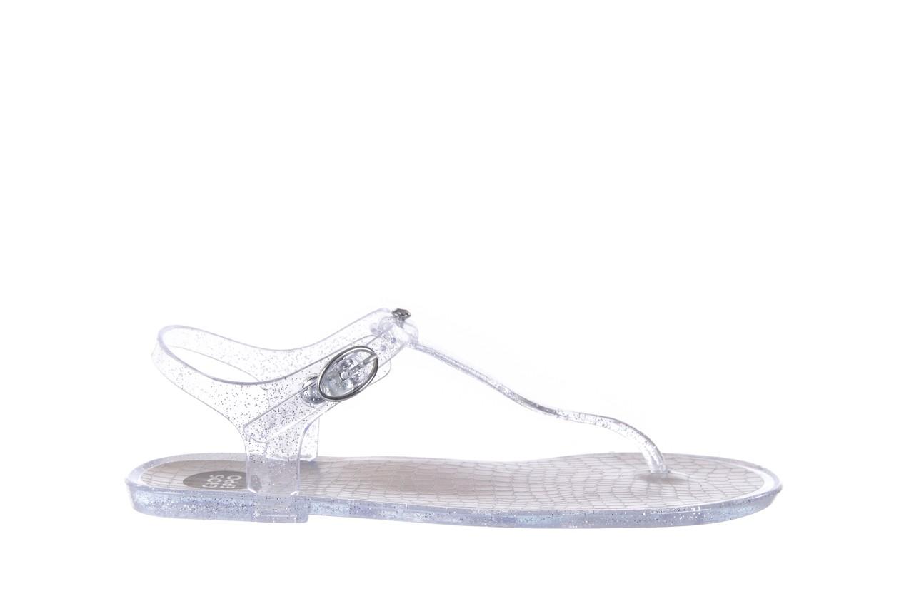 Sandały gioseppo lecce transparent silver, srebro, guma - gioseppo - nasze marki 6