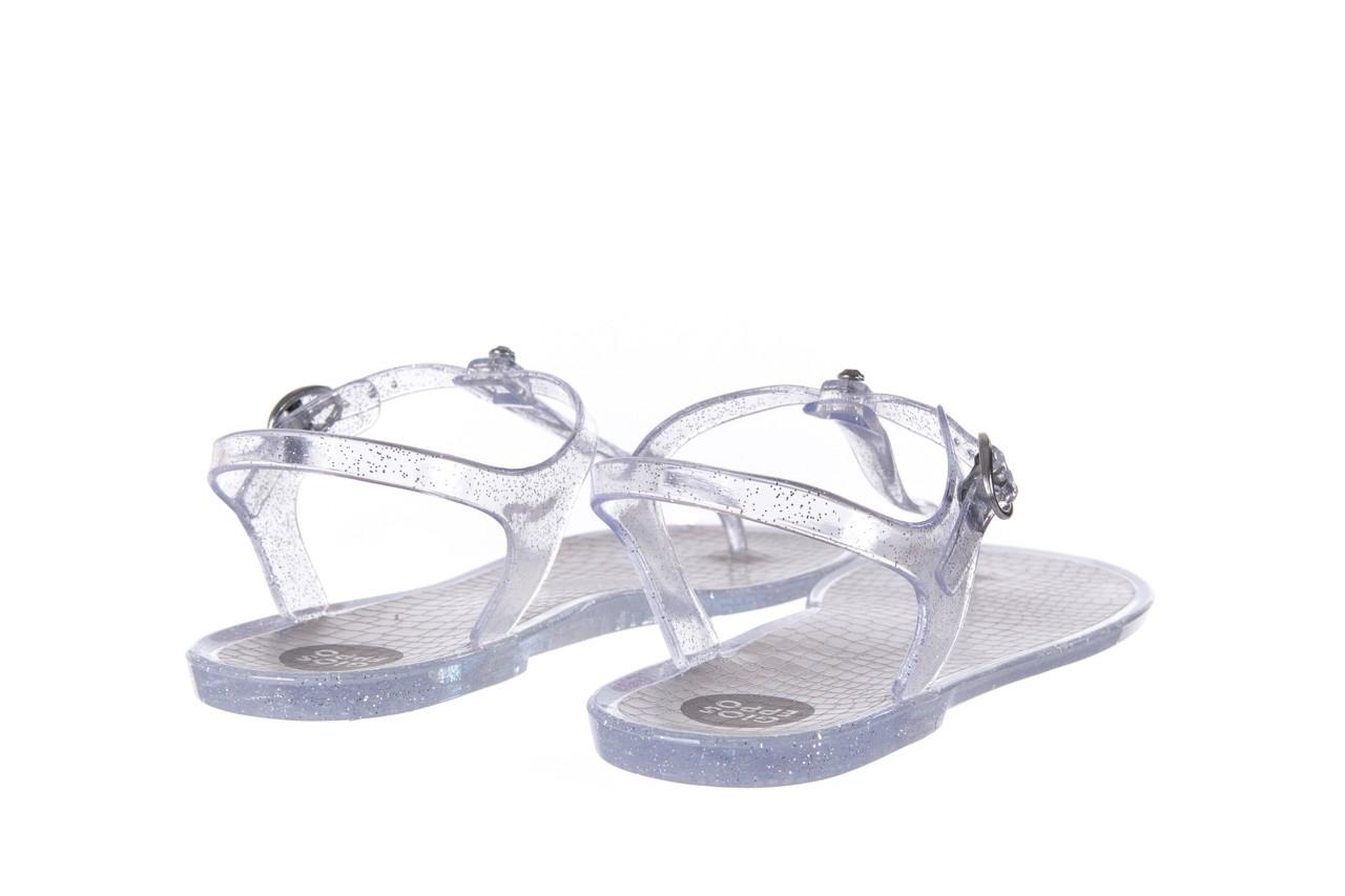 Sandały gioseppo lecce transparent silver, srebro, guma - gioseppo - nasze marki 9