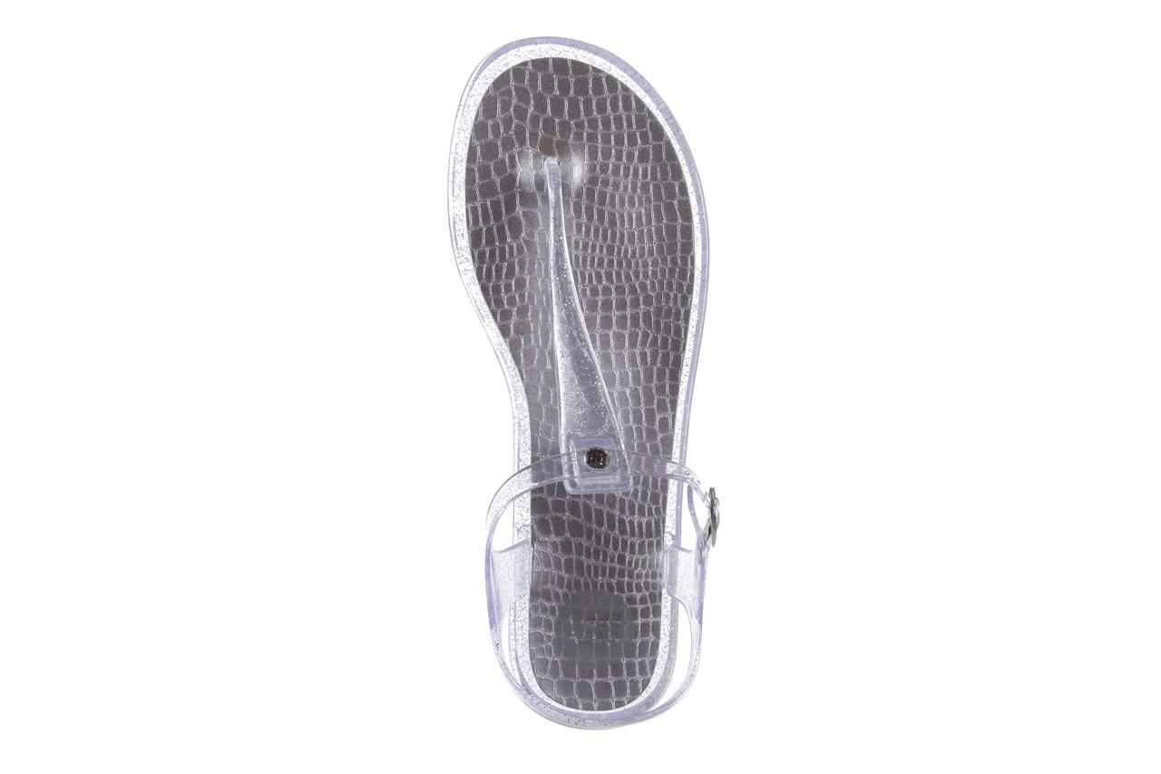 Sandały gioseppo lecce transparent silver, srebro, guma - gioseppo - nasze marki 10