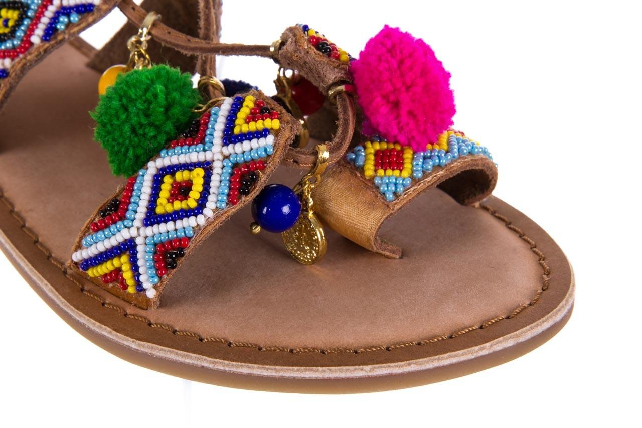 Sandały gioseppo omahas tan, wielokolorowy, skóra naturalna  - gioseppo - nasze marki 13