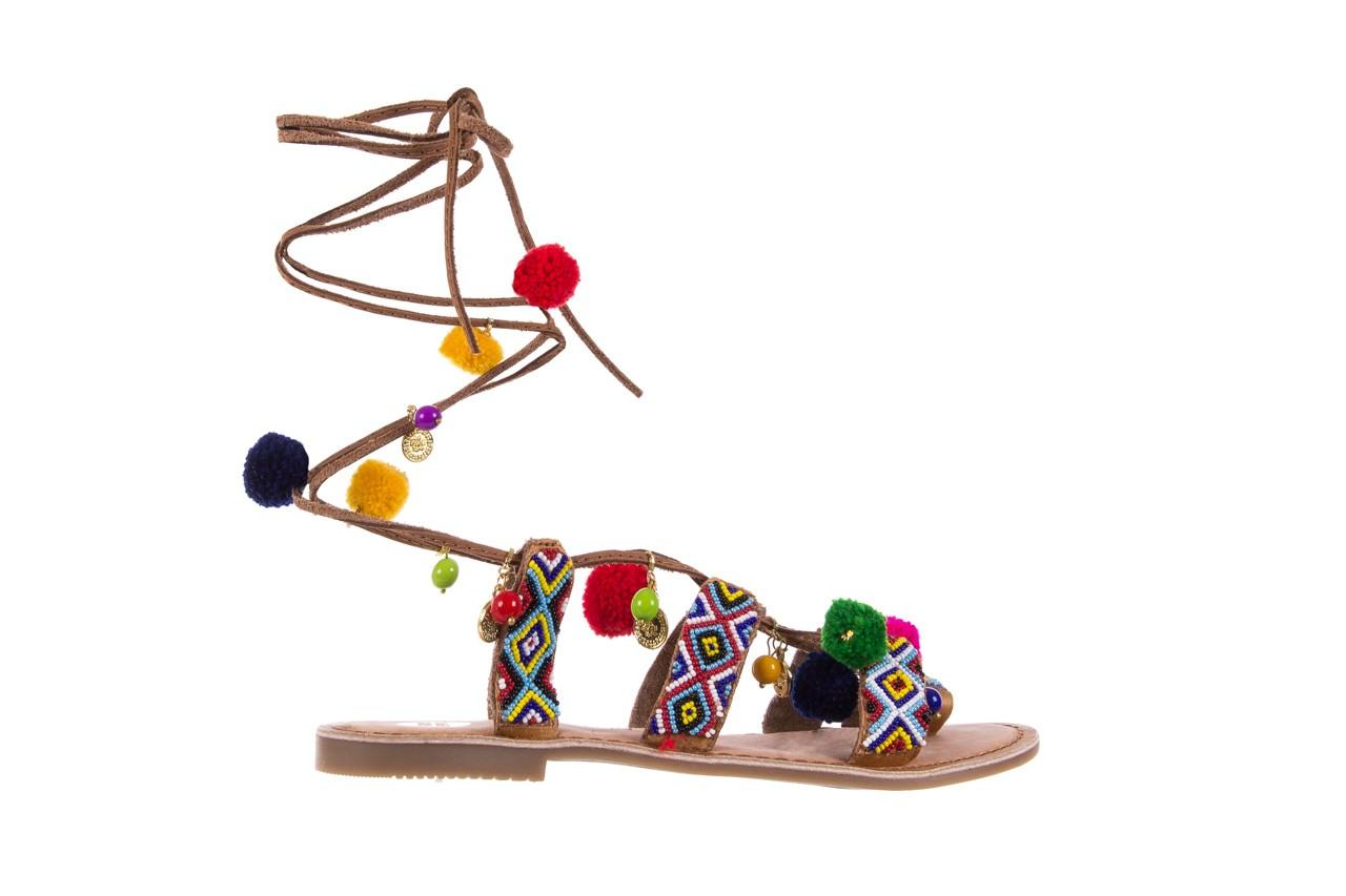 Sandały gioseppo omahas tan, wielokolorowy, skóra naturalna  - gioseppo - nasze marki 8