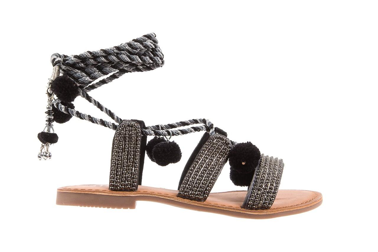Sandały gioseppo quetzali black, czarny, skóra naturalna  - gioseppo - nasze marki 6