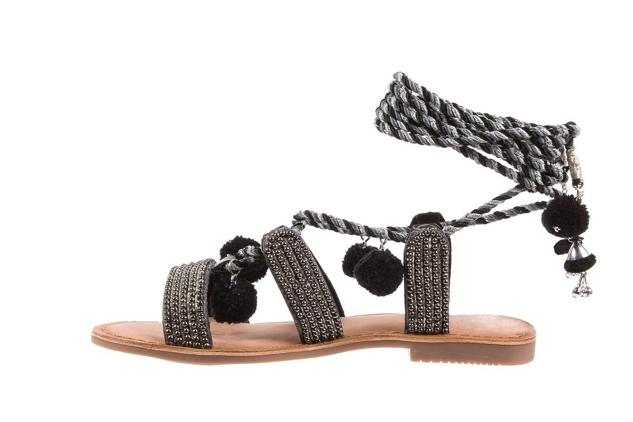 Sandały gioseppo quetzali black, czarny, skóra naturalna  - gioseppo - nasze marki 8