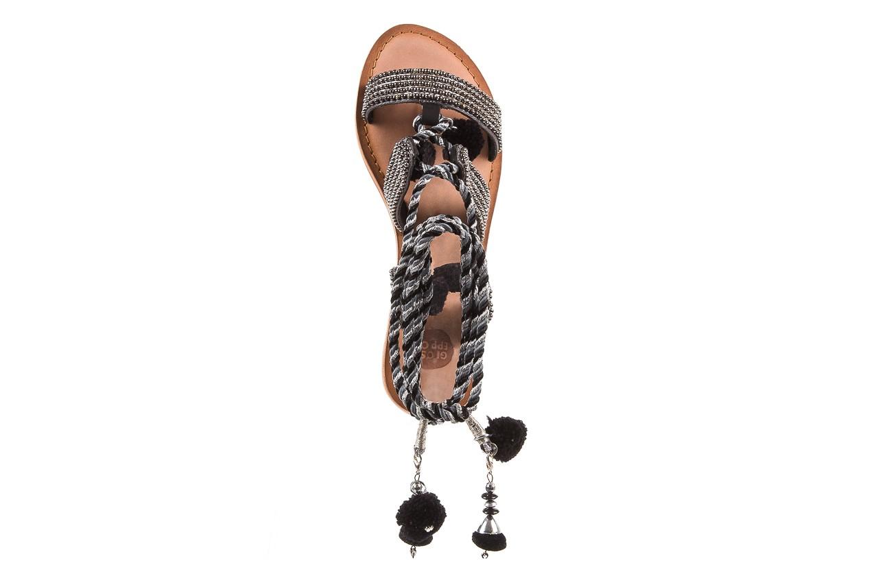Sandały gioseppo quetzali black, czarny, skóra naturalna  - gioseppo - nasze marki 10