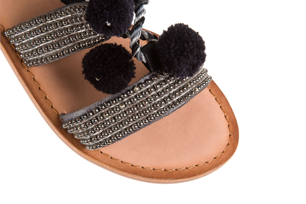Sandały gioseppo quetzali black, czarny, skóra naturalna  - gioseppo - nasze marki 11