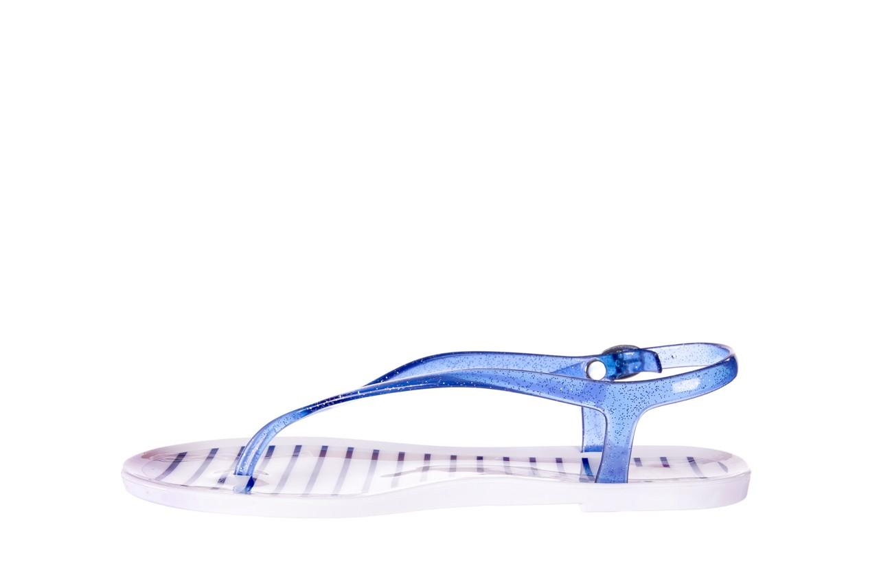 Sandały gioseppo sassari blue, granat, guma - japonki - sandały - buty damskie - kobieta 8