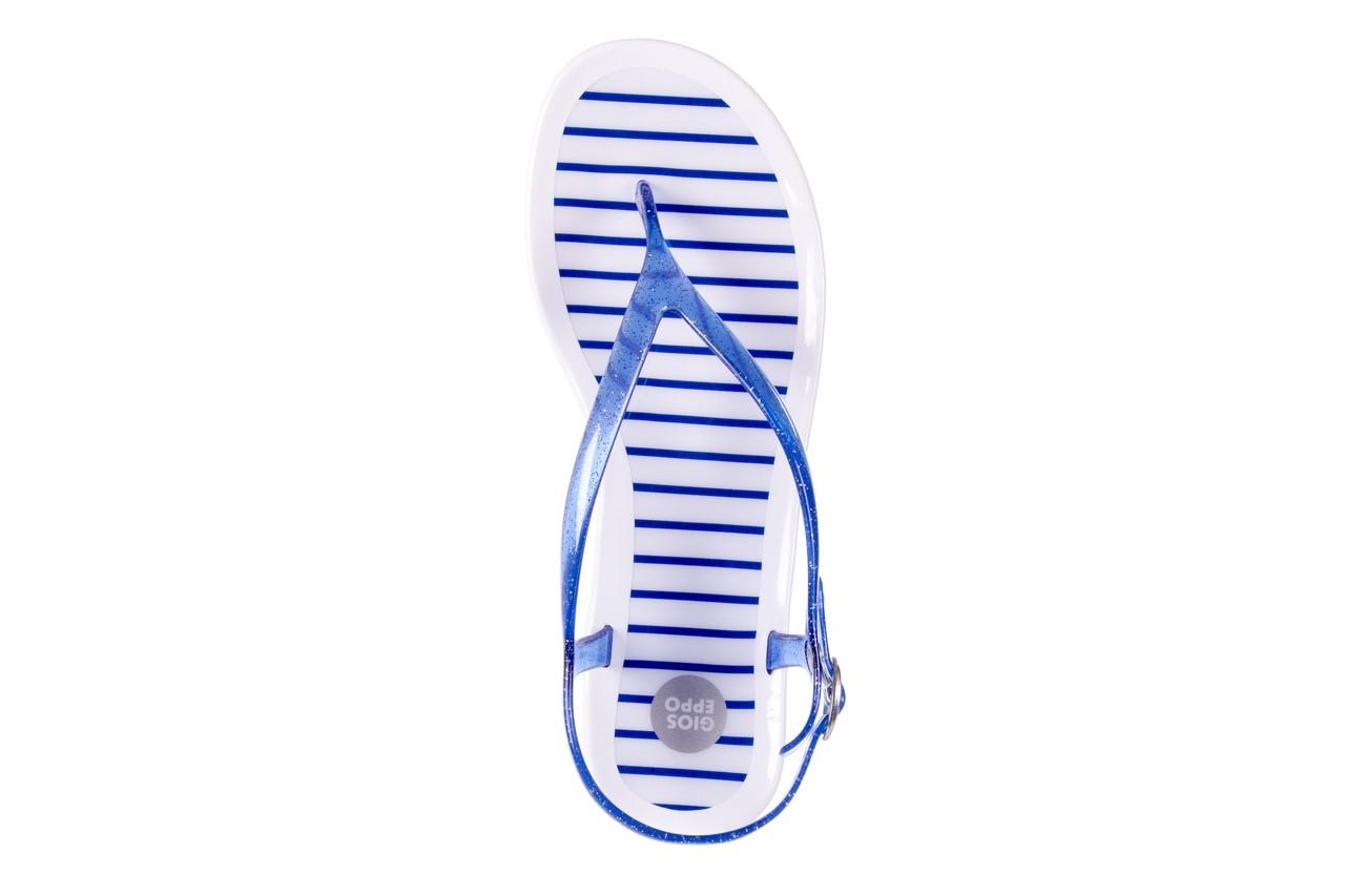 Sandały gioseppo sassari blue, granat, guma - japonki - sandały - buty damskie - kobieta 10
