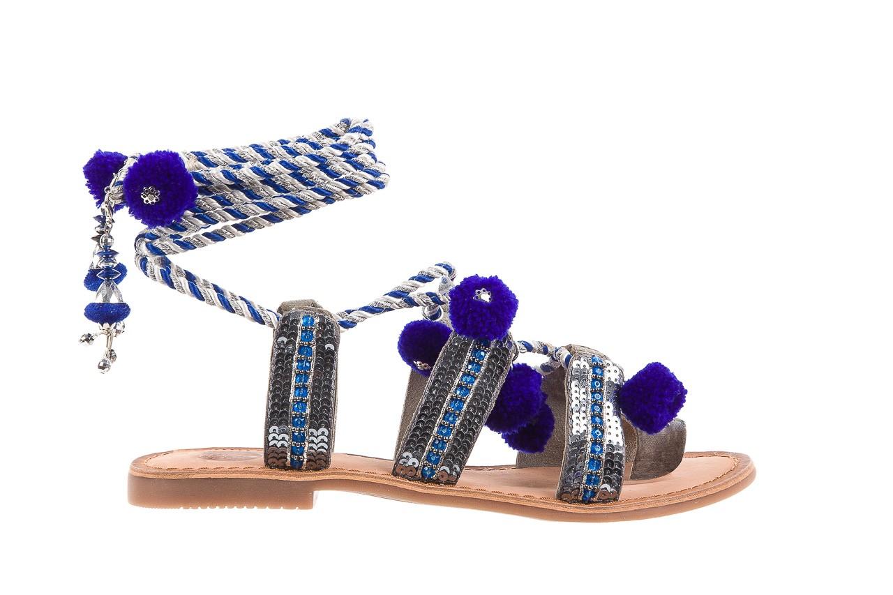 Sandały gioseppo yurak blue, granat, skóra naturalna  - sandały - dla niej - dodatkowe -10% 7