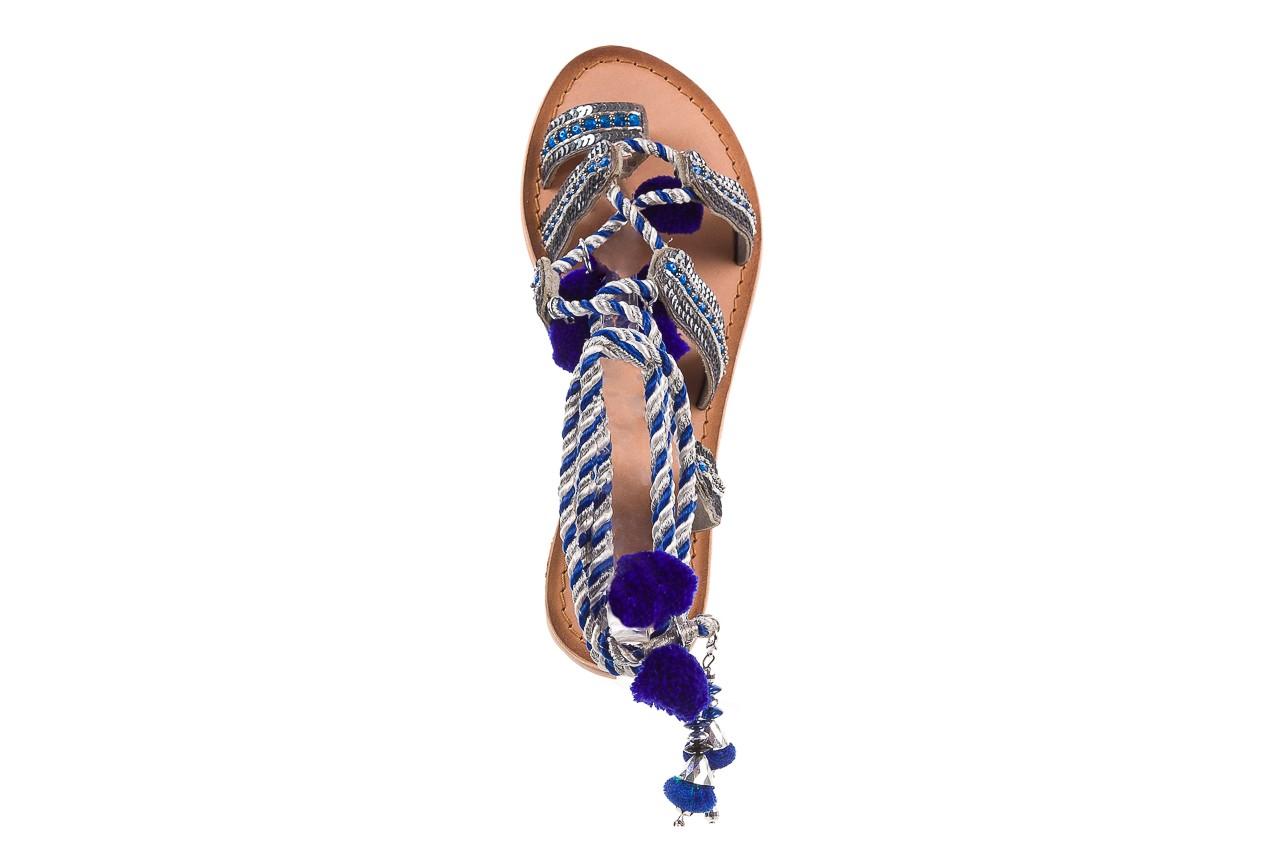 Sandały gioseppo yurak blue, granat, skóra naturalna  - sandały - dla niej - dodatkowe -10% 11