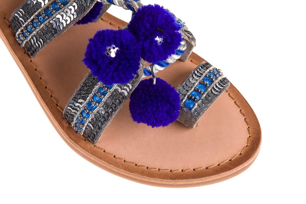 Sandały gioseppo yurak blue, granat, skóra naturalna  - sandały - dla niej - dodatkowe -10% 12