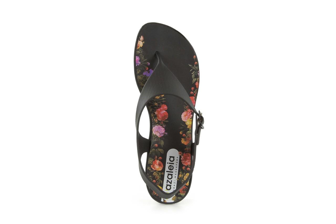 Sandały grazi 017 244 black flower, czarny, guma - dijean - nasze marki 9