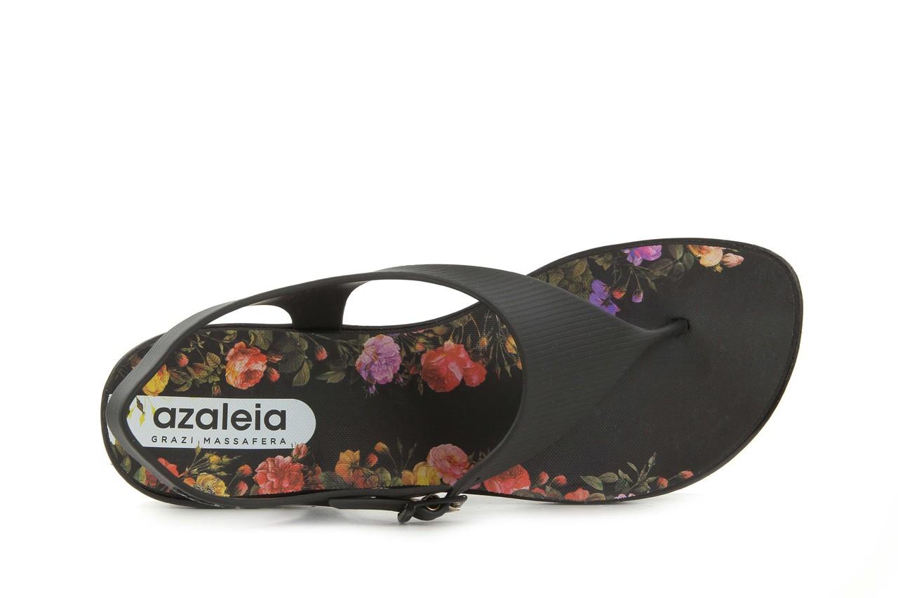 Sandały grazi 017 244 black flower, czarny, guma - dijean - nasze marki 10