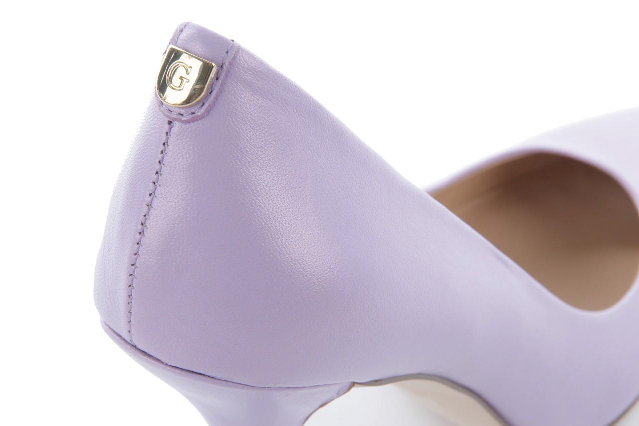 Szpilki guess fl1pm2 lem08 lilac, fiolet, skóra naturalna - guess - nasze marki 11