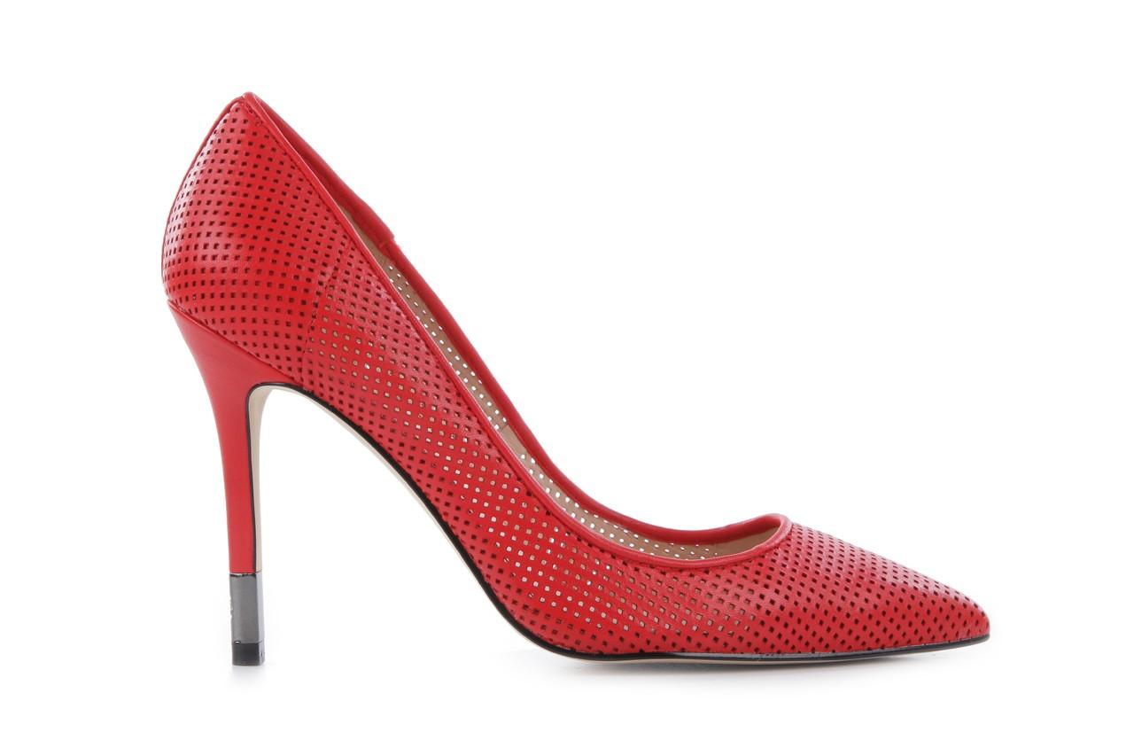 Czółenka guess fl2byy lea08 red, czerwony, skóra naturalna - guess - nasze marki 5