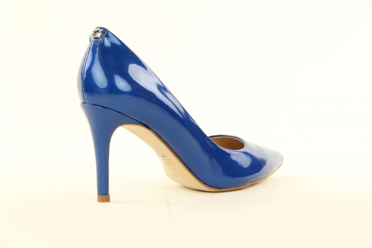 Szpilki guess fl2mmapal08 blue, niebieskie, skóra naturalna lakierowana - guess - nasze marki 6