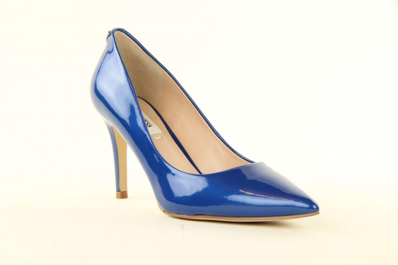 Szpilki guess fl2mmapal08 blue, niebieskie, skóra naturalna lakierowana - guess - nasze marki 5
