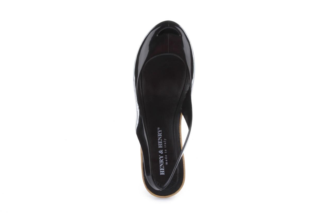 Sandały henry&henry coco black 15, czarny, guma - henry&henry - nasze marki 11
