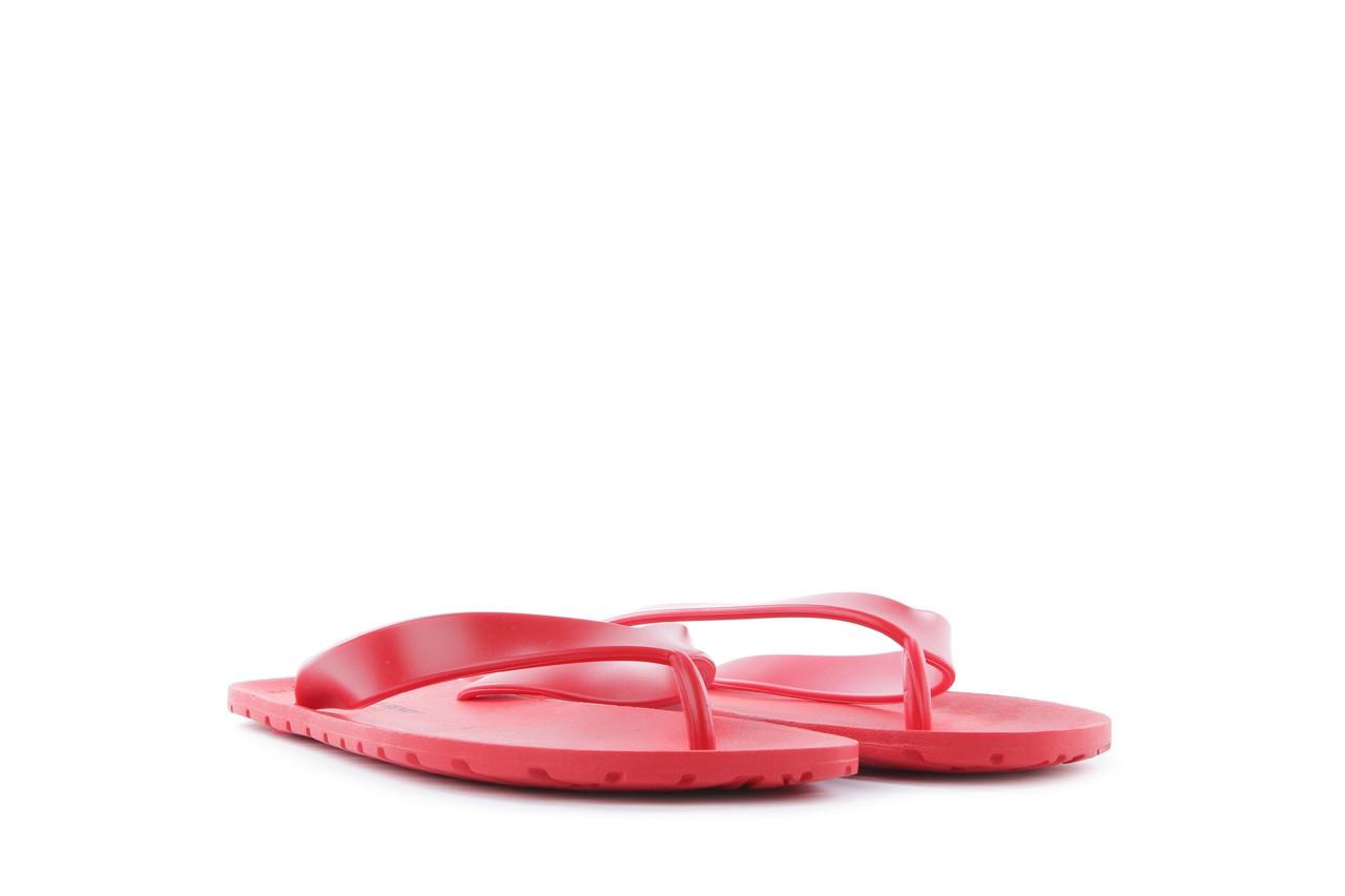 Klapki henry&henry flipper red, czerwony, guma 6