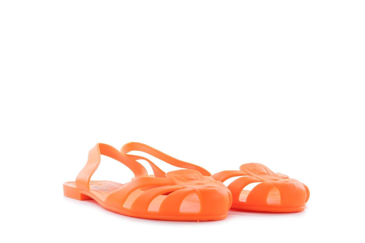 Sandały henry&henry spider orange, pomarańczowe, guma 7