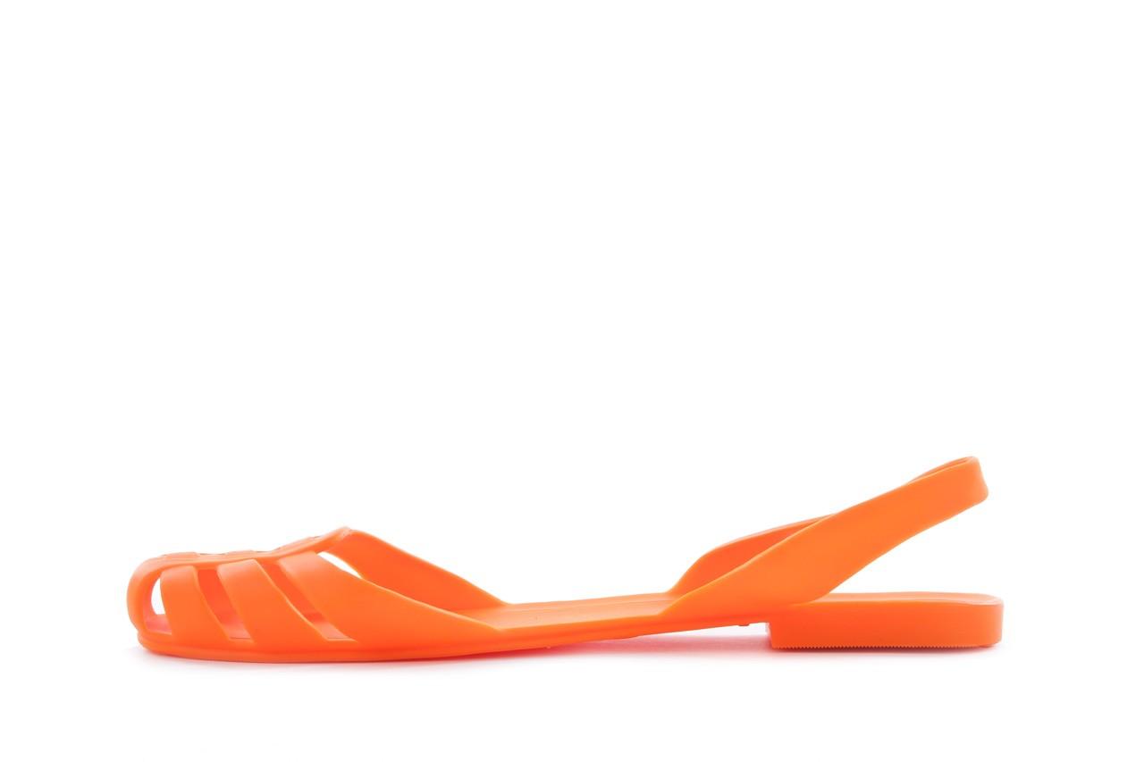 Sandały henry&henry spider orange, pomarańczowe, guma 8