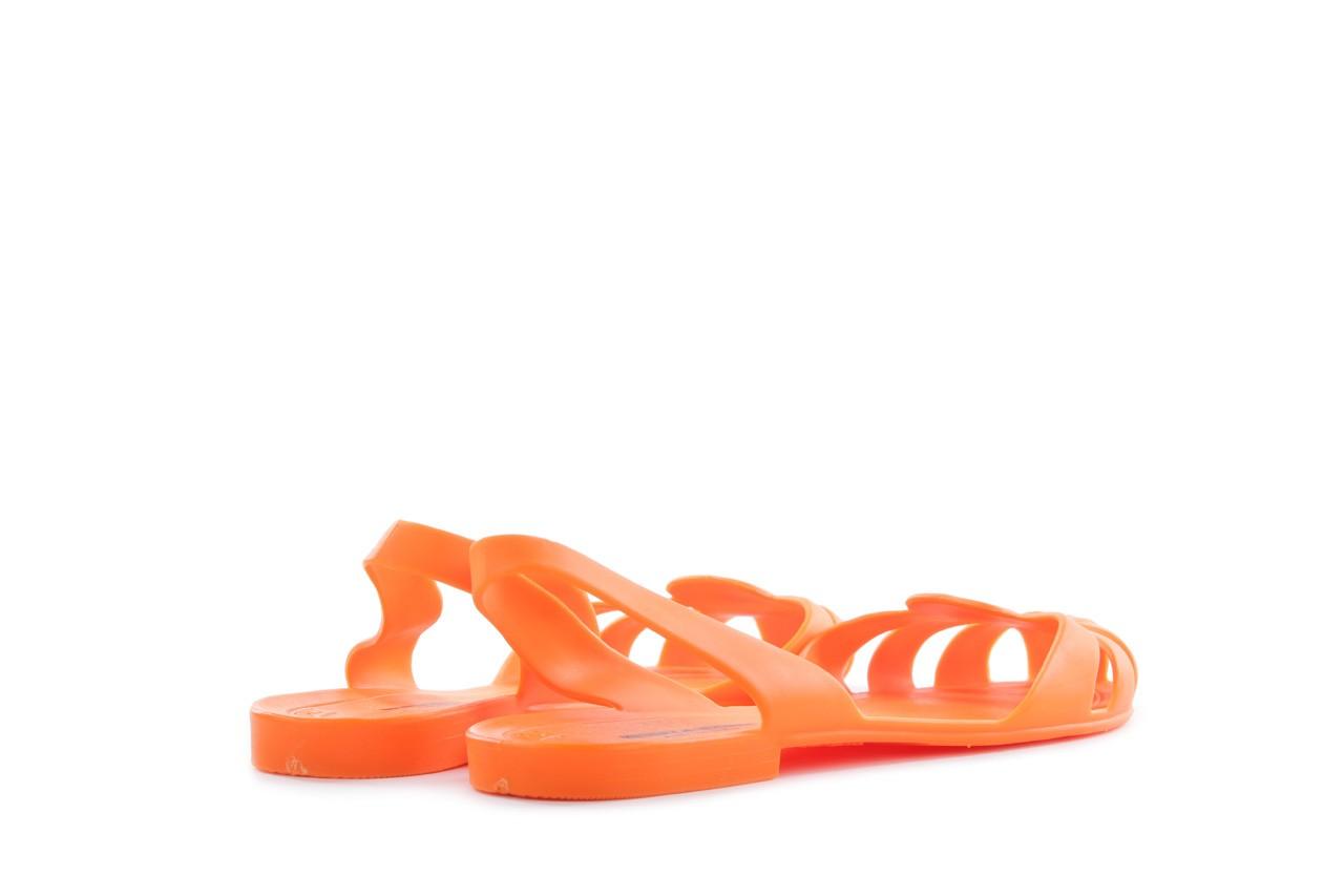 Sandały henry&henry spider orange, pomarańczowe, guma 9