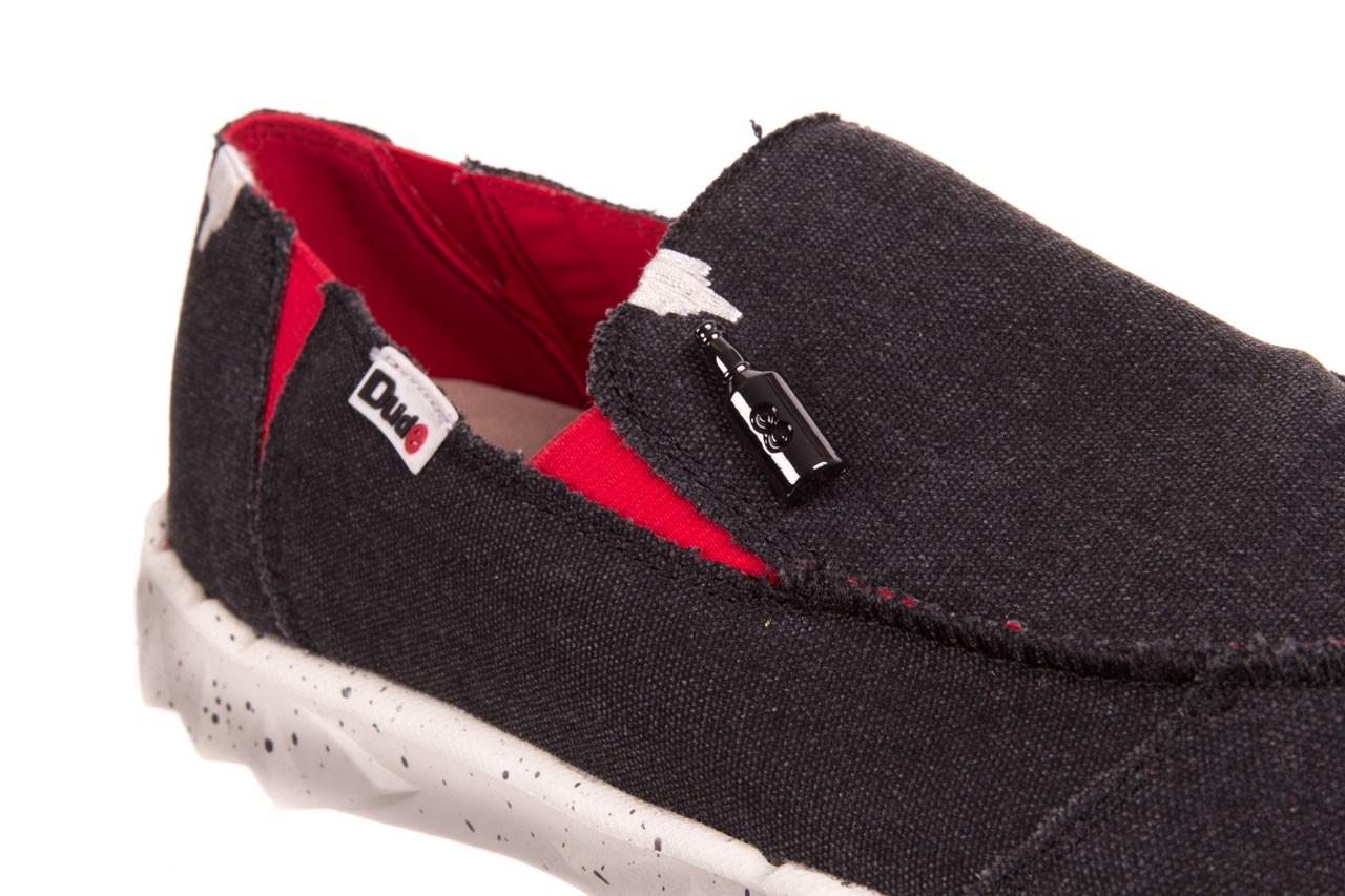 Półbuty heydude farty funk black red, czarny/ czerwony, materiał  - heydude - nasze marki 11