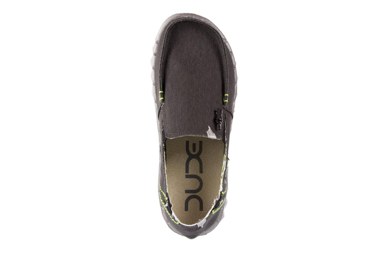 Półbuty heydude farty stretch black, czarny, materiał  - heydude - nasze marki 10