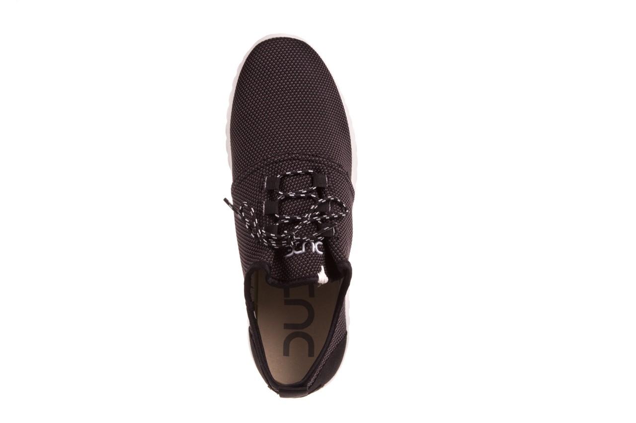 Półbuty heydude renova sox onyx, czarny, materiał  - dla niego - sale 9