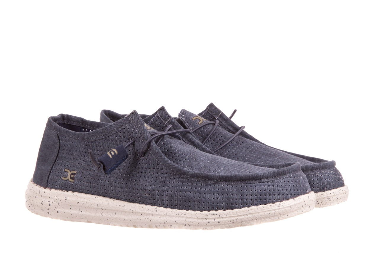 Heydude wally perforated navy - heydude - nasze marki 7