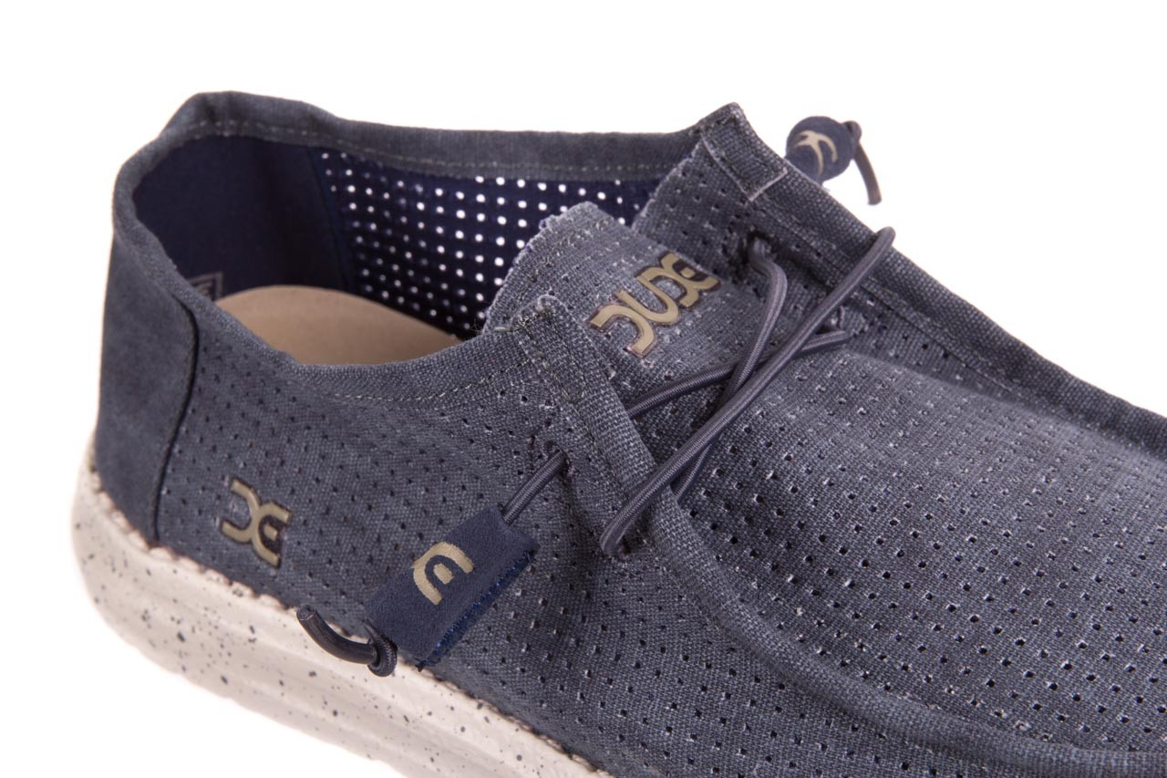 Heydude wally perforated navy - heydude - nasze marki 11
