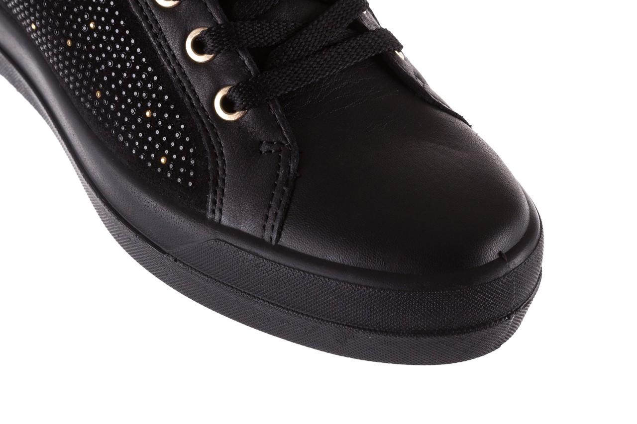 Sneakersy igi&co 8773800 nero, czarny, skóra naturalna  - obuwie sportowe - buty damskie - kobieta 12