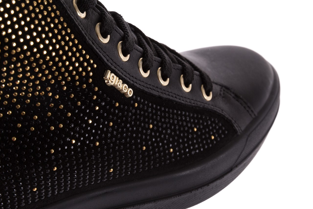 Sneakersy igi&co 8773800 nero, czarny, skóra naturalna  - obuwie sportowe - buty damskie - kobieta 13