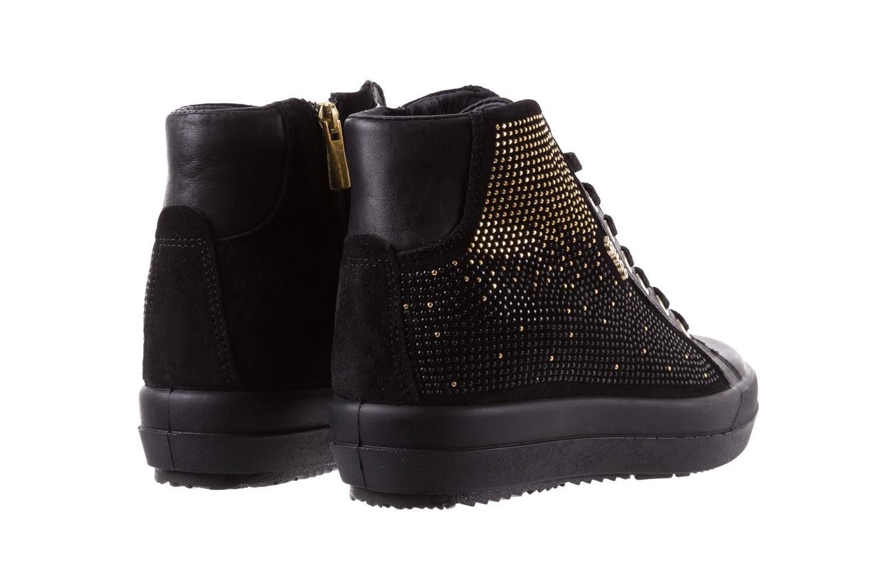 Sneakersy igi&co 8773800 nero, czarny, skóra naturalna  - obuwie sportowe - buty damskie - kobieta 10