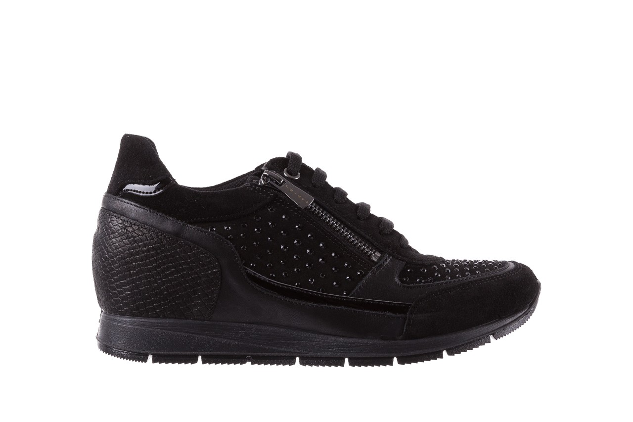 Sneakersy igi&co 8786400 nero, czarny, skóra naturalna 7