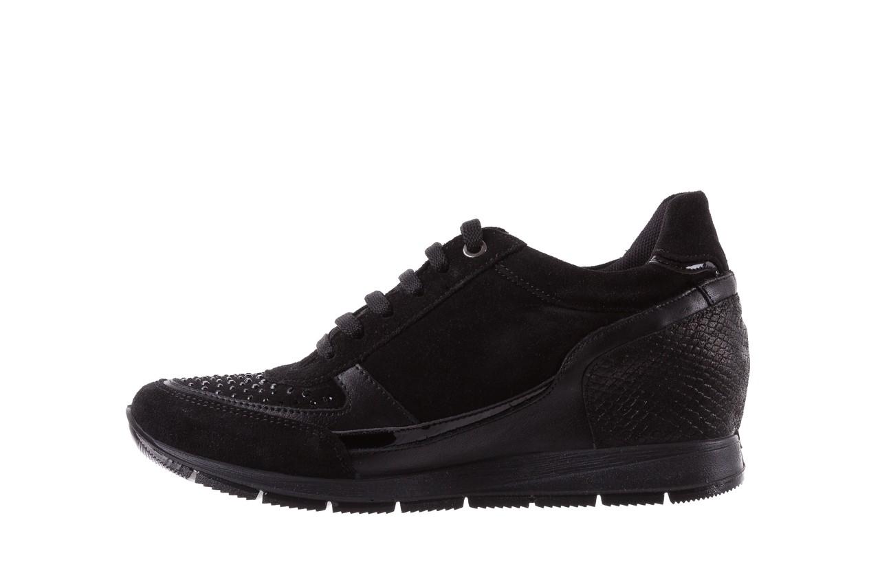 Sneakersy igi&co 8786400 nero, czarny, skóra naturalna 9