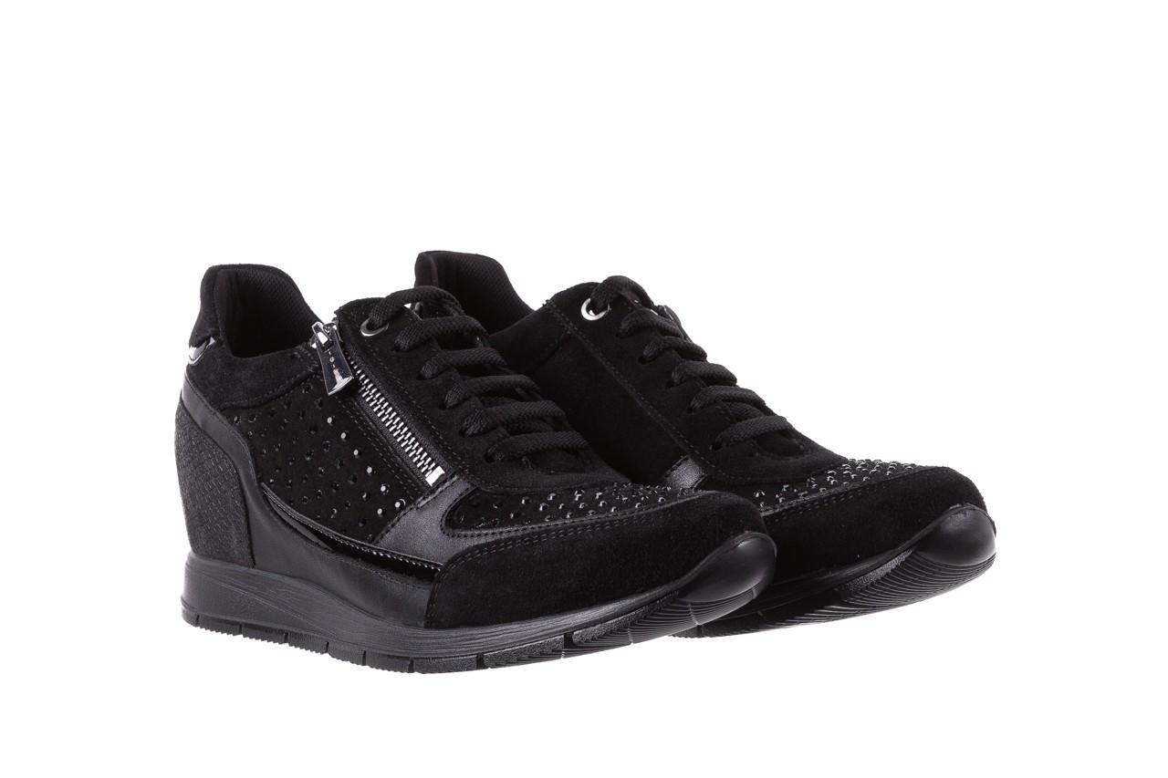 Sneakersy igi&co 8786400 nero, czarny, skóra naturalna 8