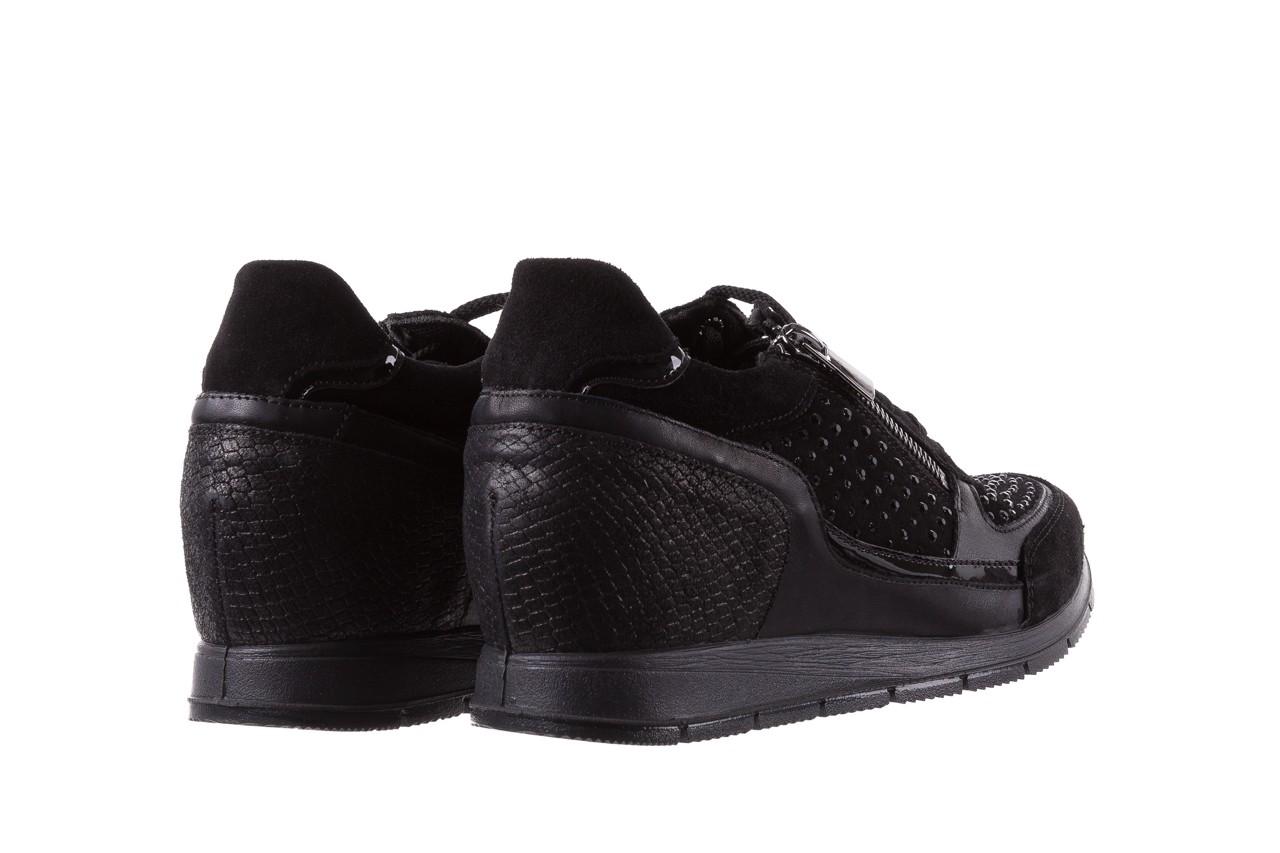 Sneakersy igi&co 8786400 nero, czarny, skóra naturalna 10