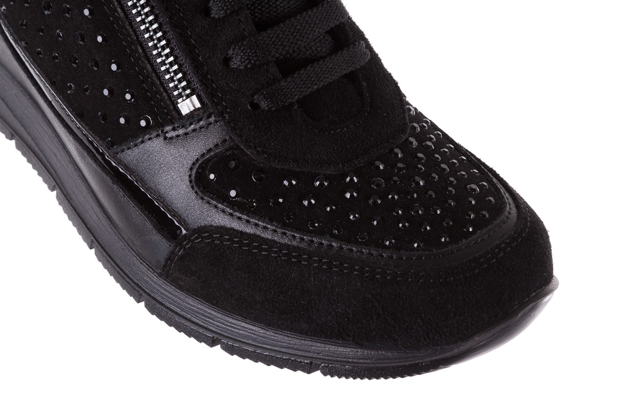 Sneakersy igi&co 8786400 nero, czarny, skóra naturalna 13